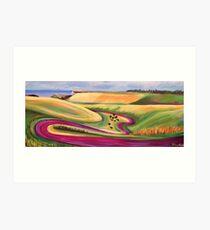 The Sussex Coast Art Print