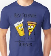 Pizza and Beer BFF Unisex T-Shirt