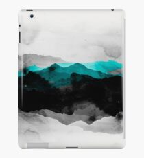Landscape montains  nature abstract iPad Case/Skin