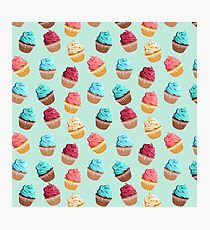 Cup Cakes Party Photographic Print