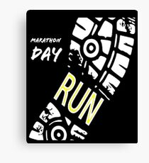 Boston Marathon Canvas Print