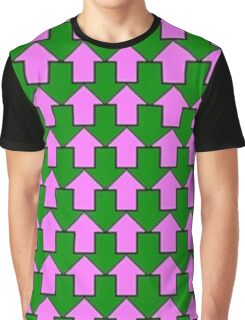 Up N' Down - Complementary Arrows Graphic T-Shirt