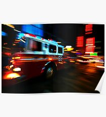 Fire Truck # 65 Poster
