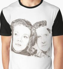 Emma Peel and John Steed Graphic T-Shirt
