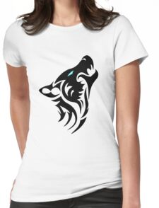 Wolf Womens Fitted T-Shirt