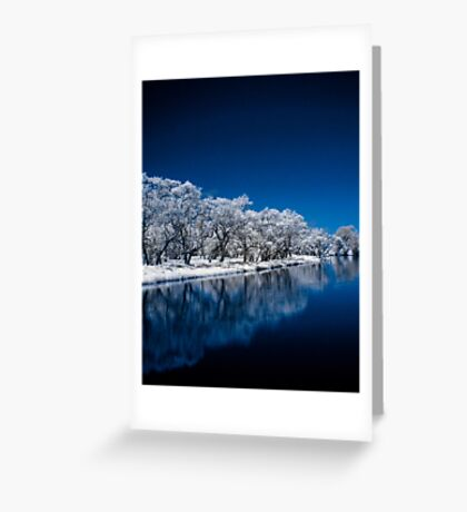 Blue Enchantment Greeting Card