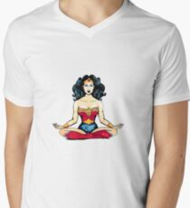 Zen Hero Men's V-Neck T-Shirt
