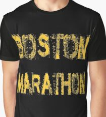 Boston Marathon Graphic T-Shirt
