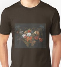 Abraham Mignon - Garland Of Fruit And Flowers  1660  T-Shirt