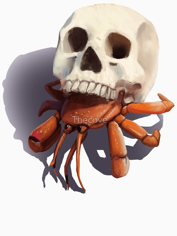 Skull Hermit Crab by Thecove