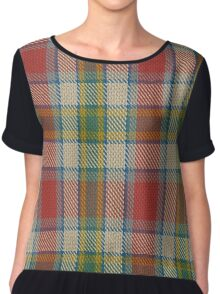 Ontario, Northern District Tartan  Chiffon Top