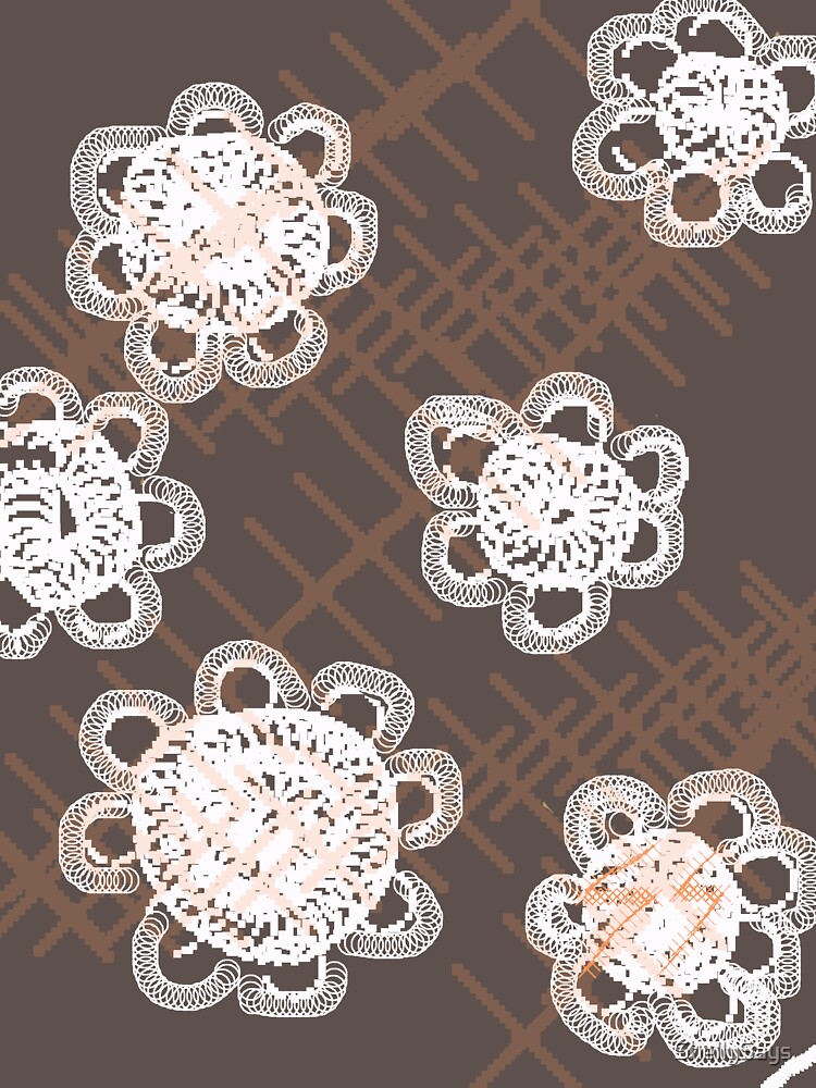 white doilies by ShellySays