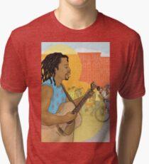 Street Music Tri-blend T-Shirt