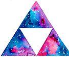 Galaxy Triforce by Mariewsart