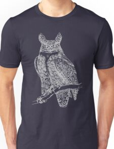 Silver Owl Unisex T-Shirt