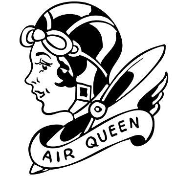 Air Queen Old-School Tattoo  by FashionNation