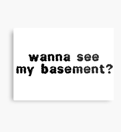 Funny Creepy Horror Scary Prank Cool Dark Humor T-Shirts Metal Print
