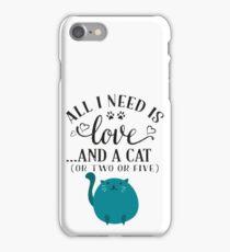LOVE CAT iPhone Case/Skin