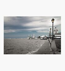 Port of Rio Grande (Brazil) Photographic Print