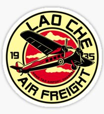 Lao Che's air freight Sticker