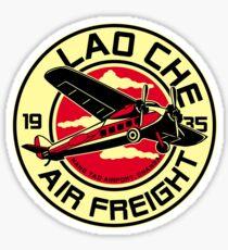 Lao Che's air freight Sticker