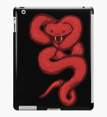 Rote Schlange iPad-Hülle & Klebefolie