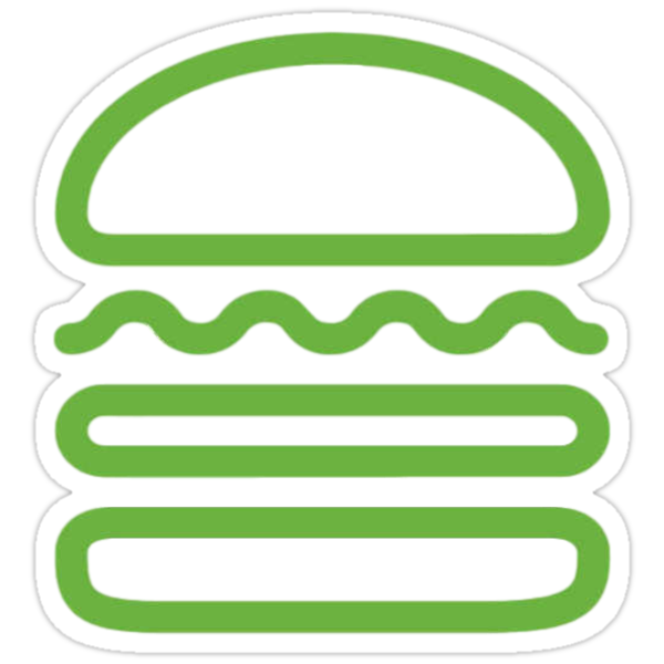 Quot Shake Shack Quot Stickers By Sydney Wilhelm Redbubble