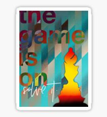 The game never over! Sticker