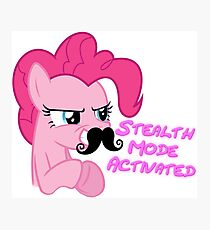 Pinkie Pie - Stealth Mode Activated  Photographic Print