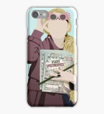 Luna Lovegood Quibbler Vector iPhone Case/Skin