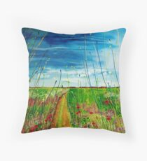 Another brandnew day.. Throw Pillow