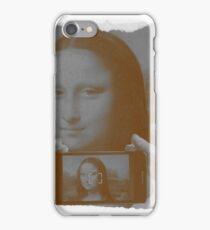 Gioconda Selfie iPhone Case/Skin