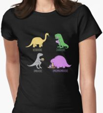 Omnomnomnivore Womens Fitted T-Shirt