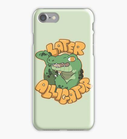 Later Alligator  iPhone Case/Skin