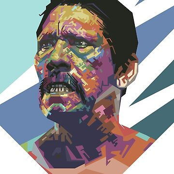 Angry Trejo by Thecove