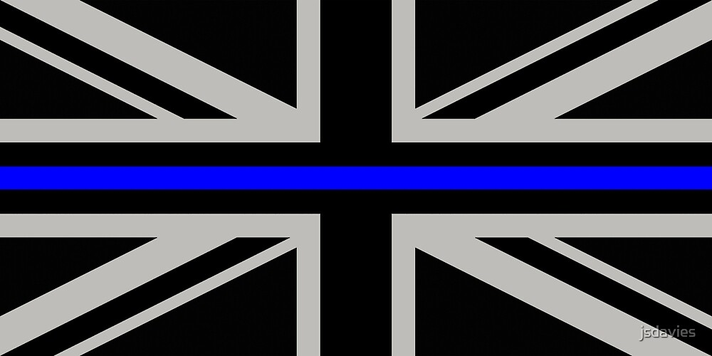 British Flag: Thin Blue Line by MilitaryCandA