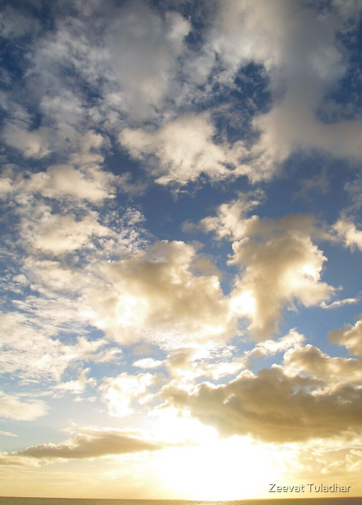 Clouds and Sun by Zeevat Tuladhar