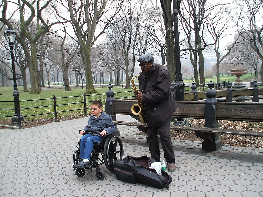 Central Park Entertainment by mazzy24