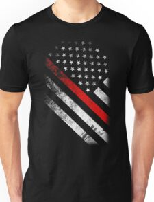 RED THIN LINE Unisex T-Shirt