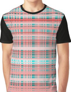 Overlapping Stripes Graphic T-Shirt