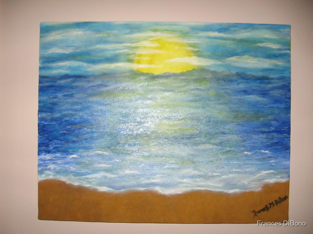 Sun with ocean by Frances DiBono