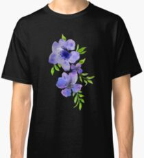 Happy Spring! Purple Blossoms.  Classic T-Shirt