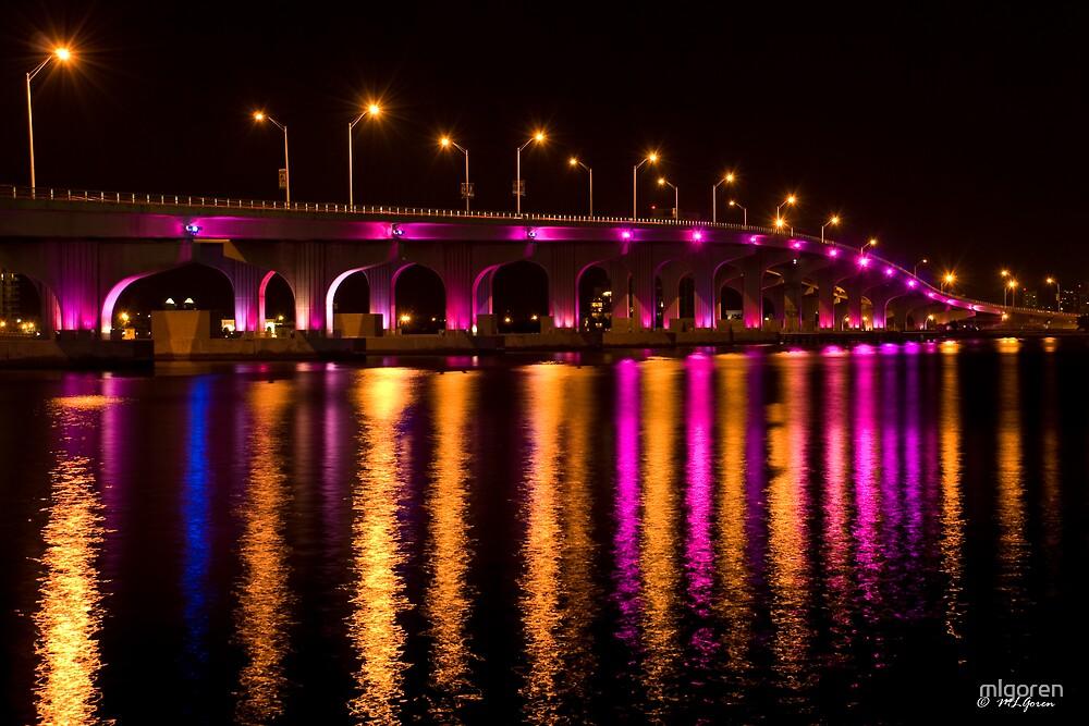 Pink Bridge by mlgoren