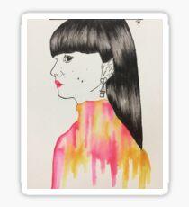 Ms. Akimoto  Sticker