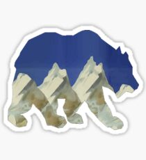 Rocky Mountain Pass Sticker