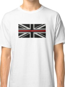 British Flag: Thin Red Line Classic T-Shirt