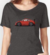Porsche GT3 RS Red/Orange Women's Relaxed Fit T-Shirt