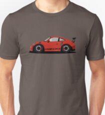 Porsche GT3 RS Red/Orange Unisex T-Shirt