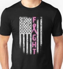 FIGHT BREAST CANCER Unisex T-Shirt
