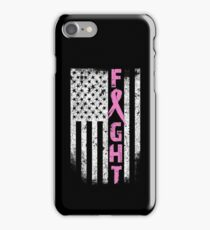 FIGHT BREAST CANCER iPhone Case/Skin